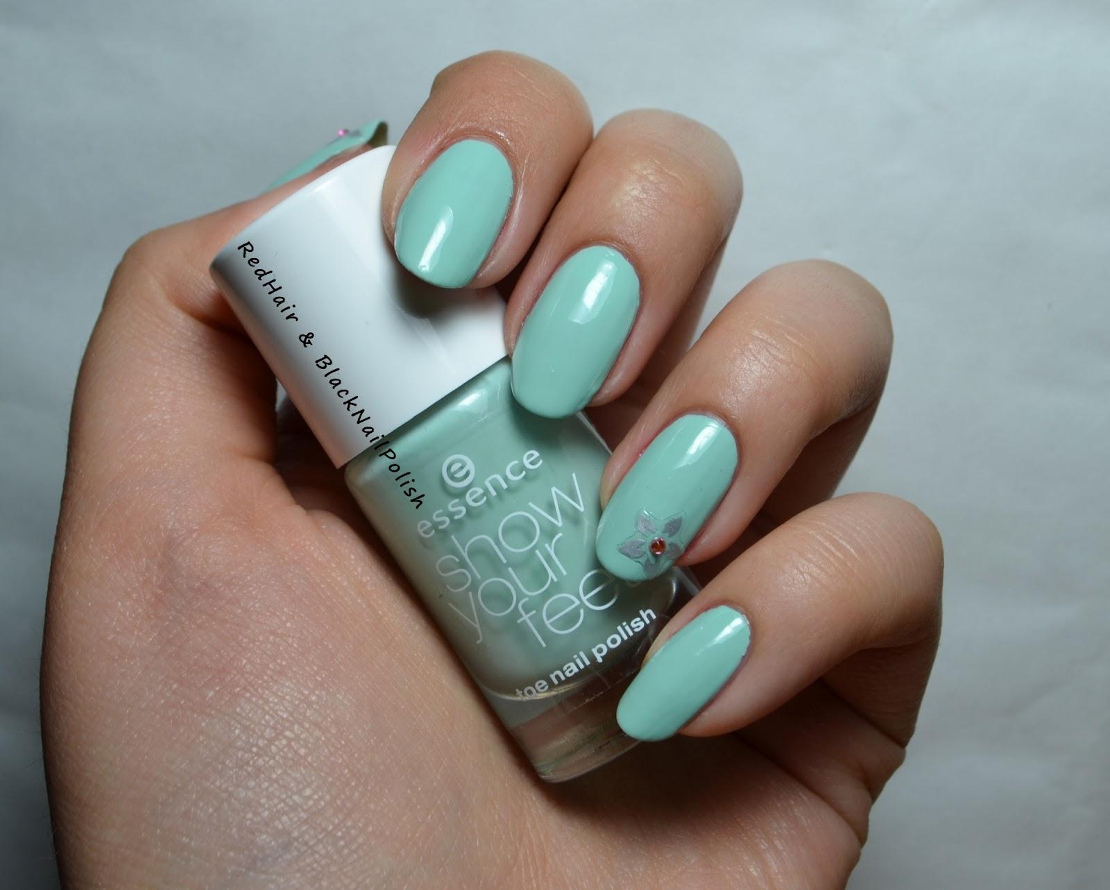 Дизайн ногтей фото мятный оттенок