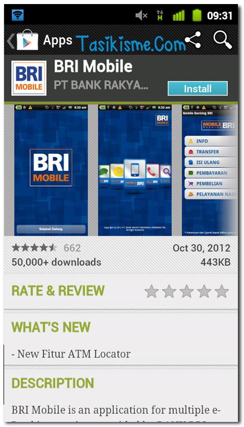 BRI Internet Banking