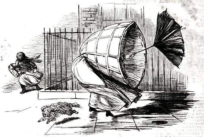 Кринолин-каркас или Юбка-убийца
