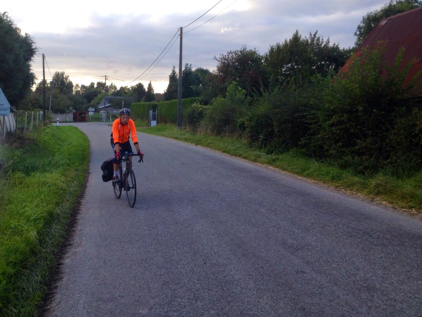 The Cake Crusader London to Paris by bike on Avenue Verte Route