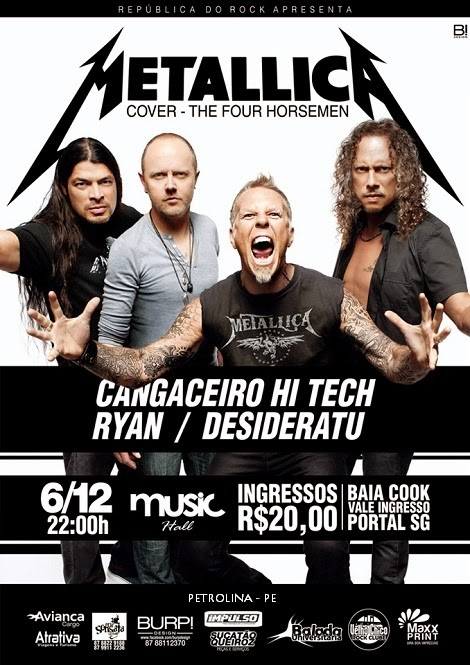 06-12-2014 - THE FOUR HORSEMEN - Petrolina - PE