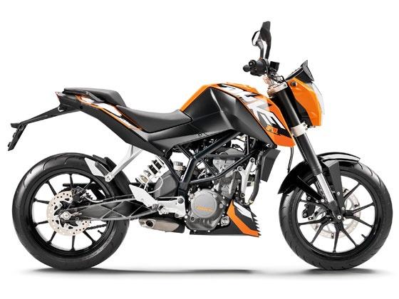 KTM 390 Duke bike