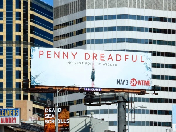 Penny Dreadful season 2 billboard