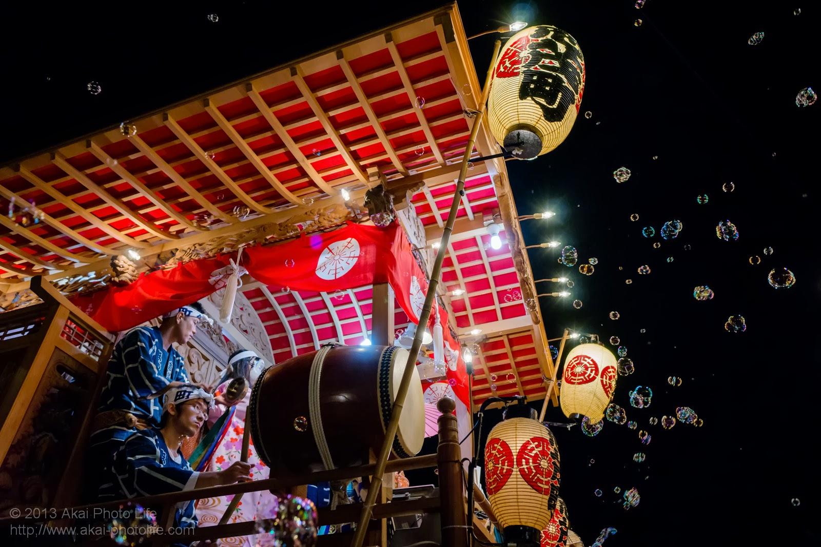 平井のお祭り、志茂町の山車