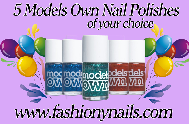 Models Own nail polishes giveaway