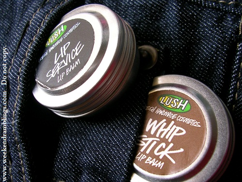 Lush Whipstick Lip Service Balm Reviews Ingredients Blog