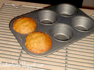 Instant Oatmeal Muffins for 2 by Custom Taste