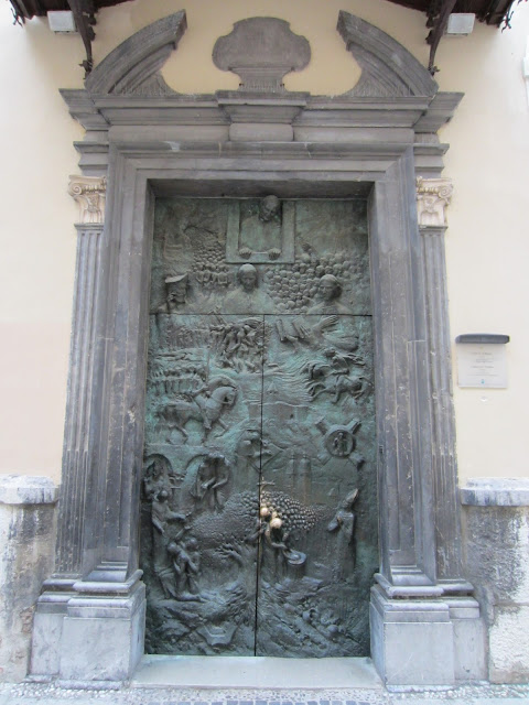 Slovene Door, St. Nicholas Church, Ljubljana, Slovenia / Souvenir Chronicles