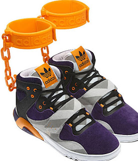 Adidas's Shackle Shoes, adidas, offensive, slave