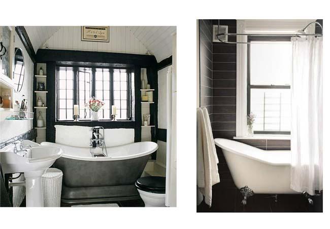 Il bagno bianco e nero  Blog Arredamento - Interior Design