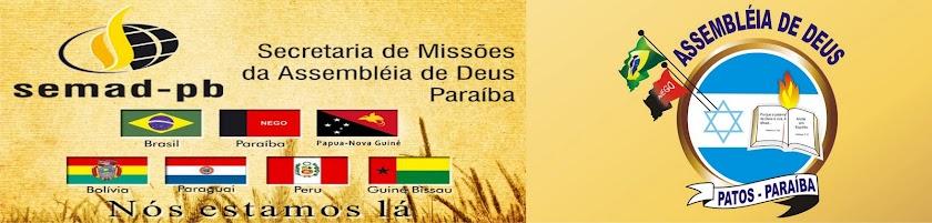 Assembléia de Deus em Patos - SECRETARIA DE MISSÕES