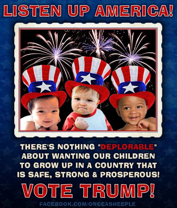 LISTEN UP AMERICA!