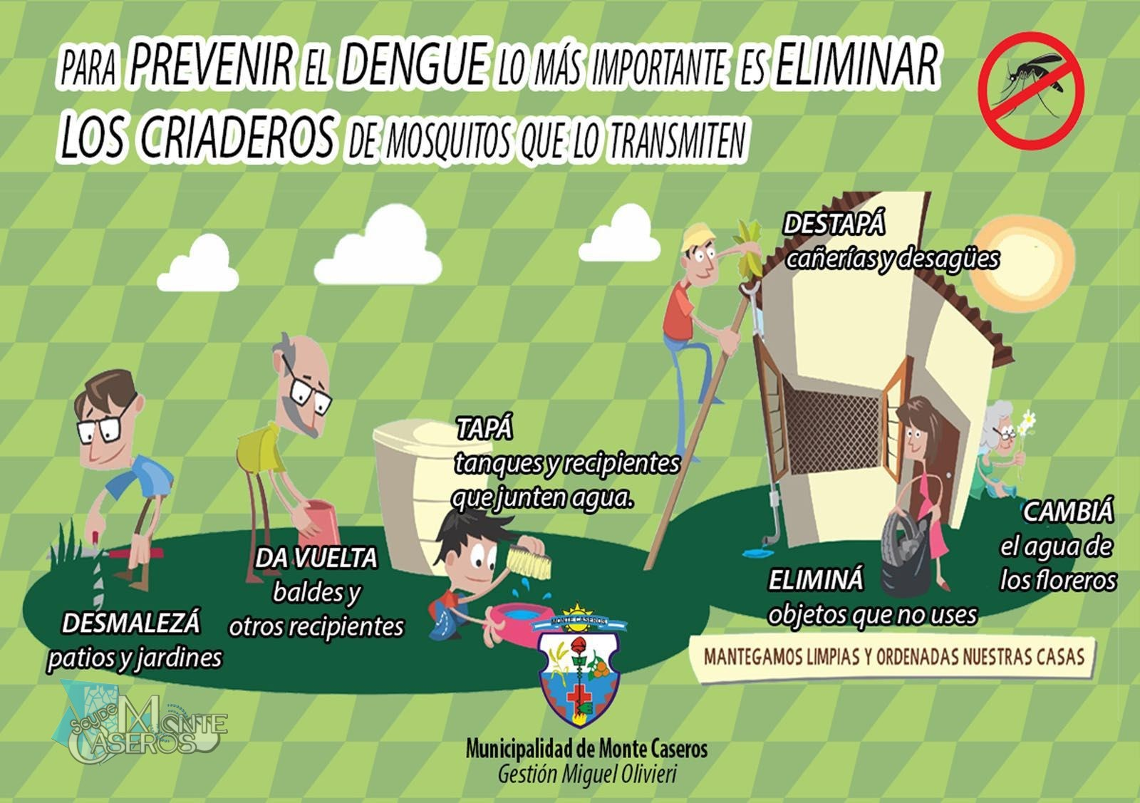 Para Prevenir el Dengue