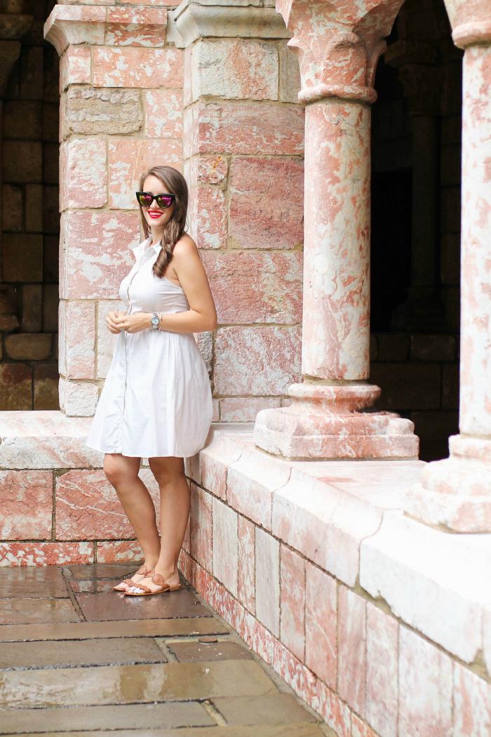 cynthia steffe white halter dress