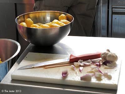 Küchendienst für leckere Ergebnisse