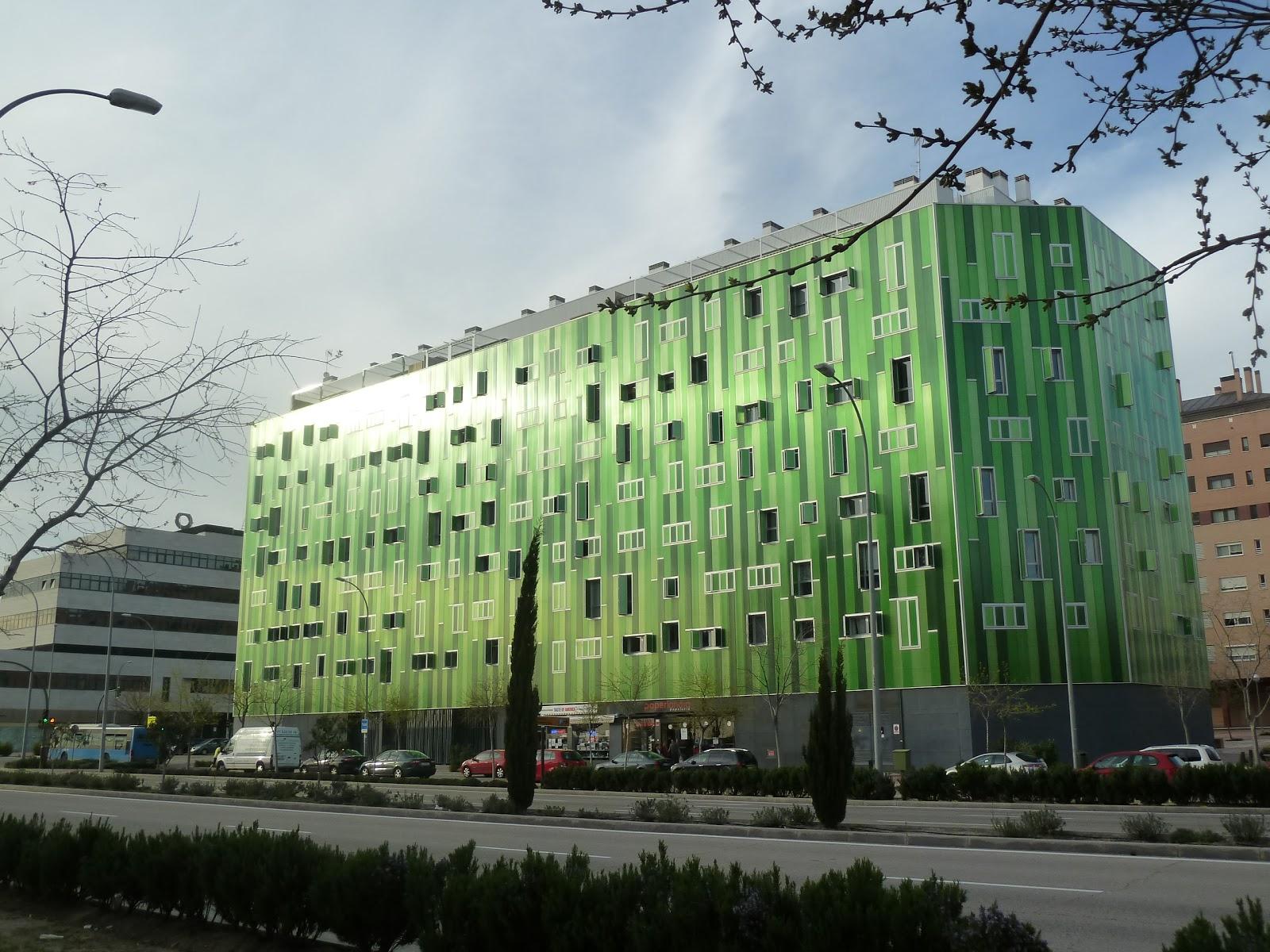 Santamarta arquitectos el edificio verde del ensanche de - Arquitectos madrid 2 0 ...