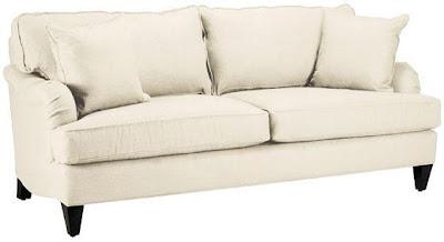 pottery barn carlisle upholstered sofa decor look alikes. Black Bedroom Furniture Sets. Home Design Ideas