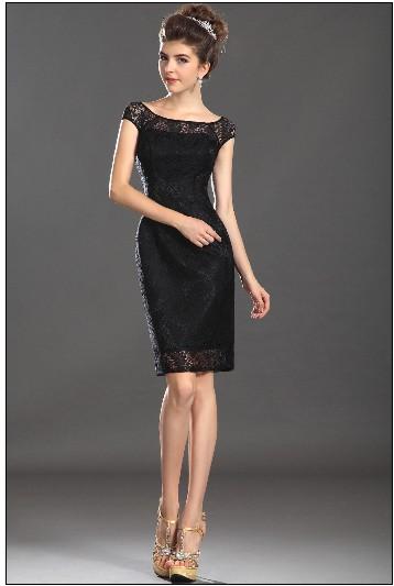 Маленькое черно платье вечернее