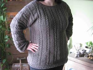 Pullover mit Kordelmuster