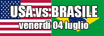 Semifinali QWC: USA v Brazil