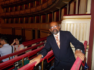 """Inside the """"Vienna State Opera"""" for the Italian play """"RIGOLETTO"""""""