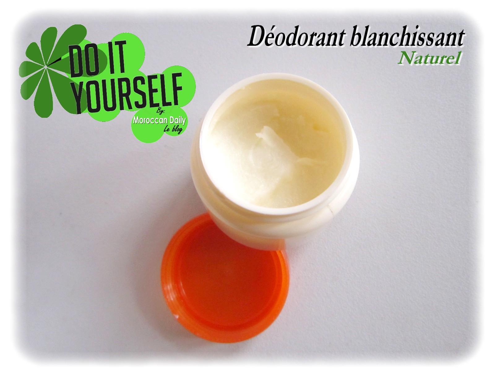moroccan daily r aliser un d odorant naturel pouvoir blanchissant. Black Bedroom Furniture Sets. Home Design Ideas