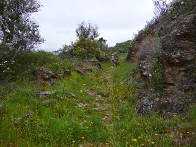 Caminos prácticamente perdidos entre aldeas