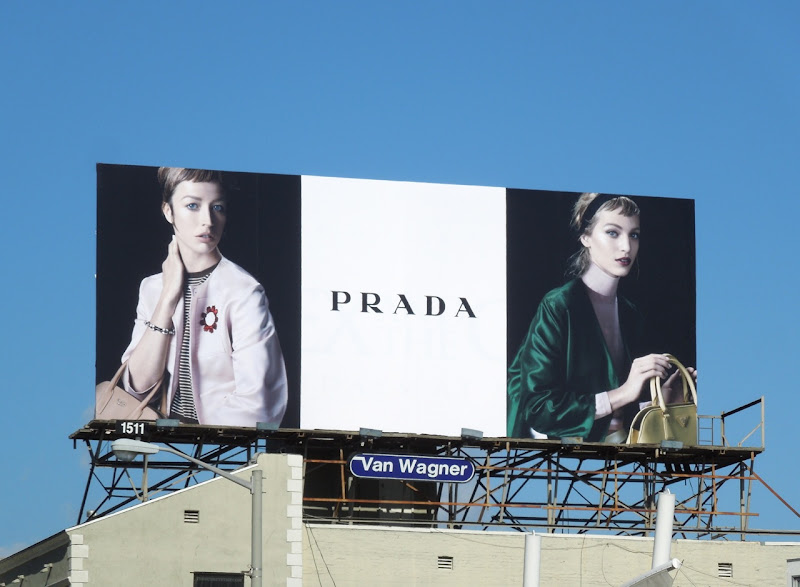Prada Spring13 collection billboard