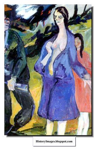 german painting mass rape