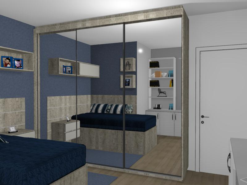Susan Daiane Design de Interiores Quarto do Rapaz Solteiro ~ Quarto Solteiro Design
