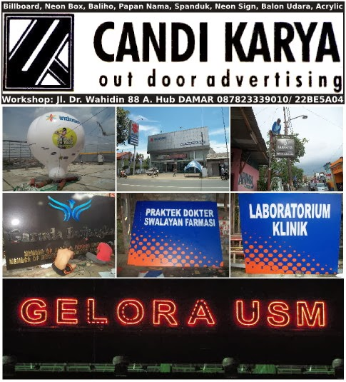 Candi Karya Advertising | Neon Box, Billboard, Baliho
