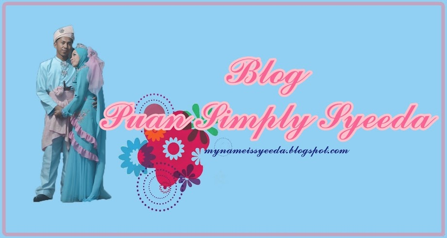 BLOG PUAN SIMPLY SYEEDA