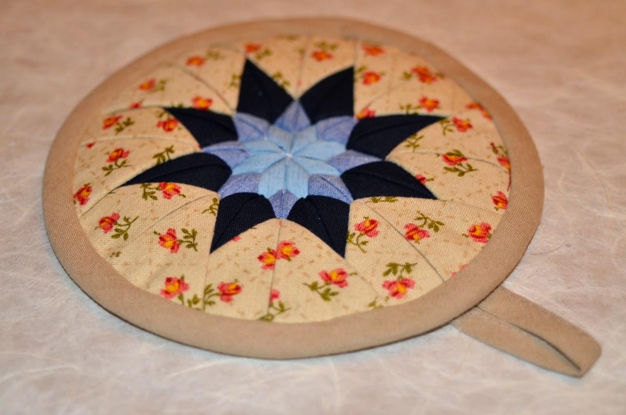 Topfuntersetzer, Teekannenuntersetzer, Topflappen aus japanischen Stoffen von Noriko handmade, DIY Nähanleitung, Do It Youself, Japan, Design