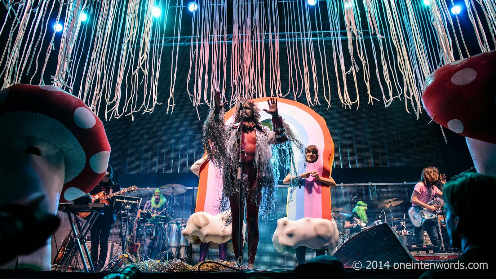 The Flaming Lips Toronto Riot Fest 2014 www.oneintenwords.com one in ten words toronto indie alternative music blog concert photography pictures
