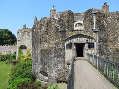 Walmer Castle, Queen Mother, royal residence, summer, gardens, Henry VIII, day trip, English Heritage, UK, visit, tourist, bridge, battlements, defence, old, bricks, fortress