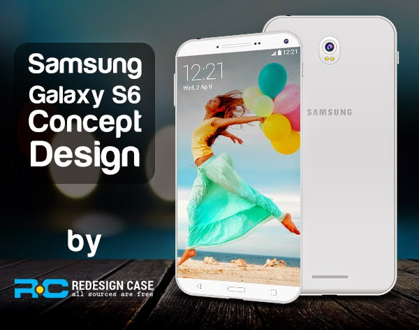 Samsung Galaxy S6 Concept PSD Template