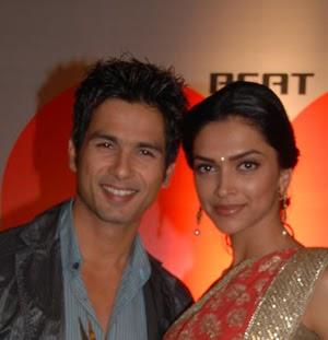 Deepika Padukone: Deepika Padukone and Shahid Kapoor together