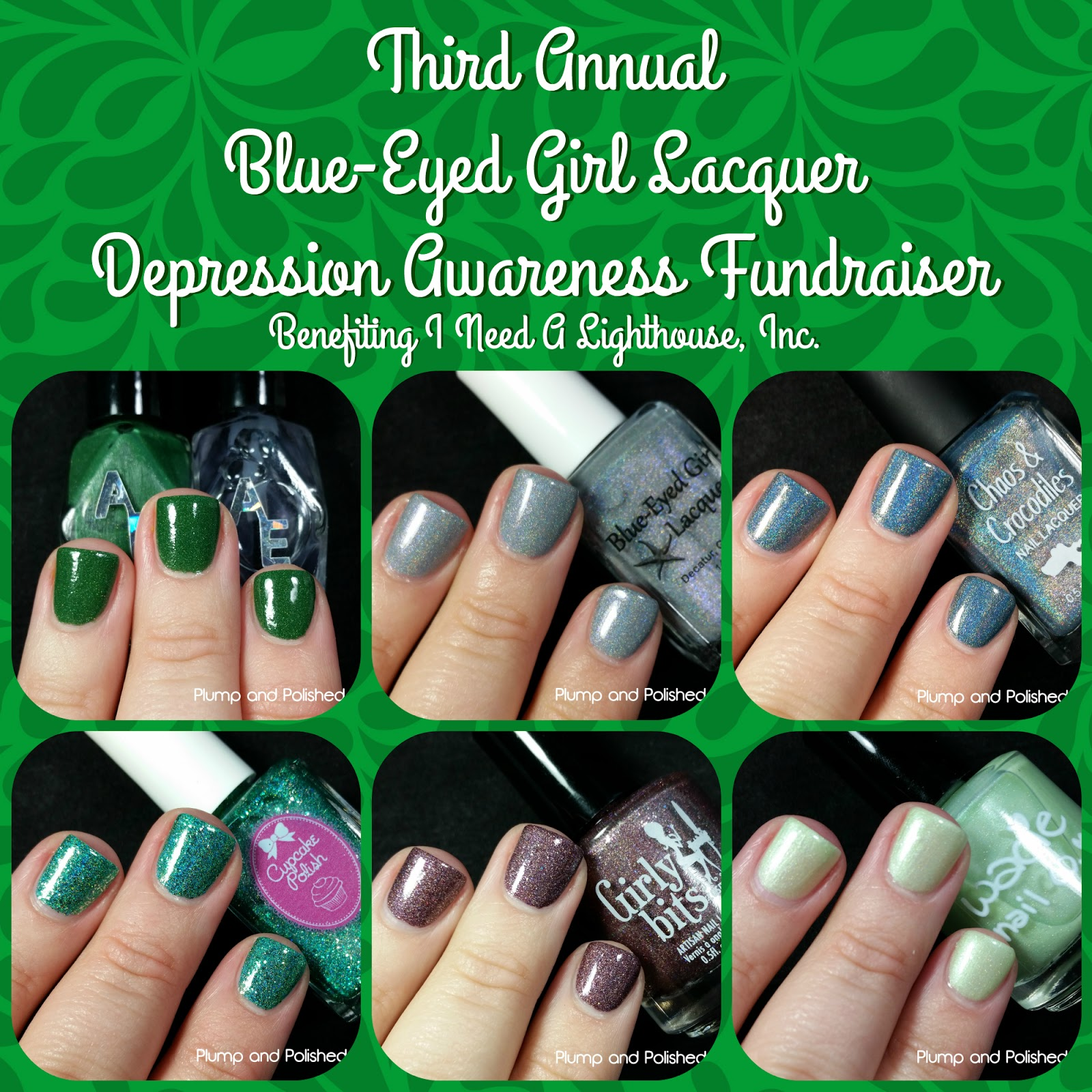Julie Of Blue Eyed Lacquer Is Hosting Her Third Annual Depression Awareness Fundraiser Benefiting I Need A Lighthouse