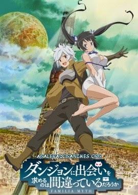 Dungeon ni Deai o Motomeru no wa Machigatte Iru Darouka episodios online