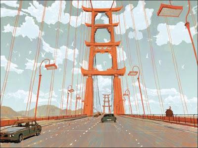 #BigHero6 Bridge to San Fransokyo