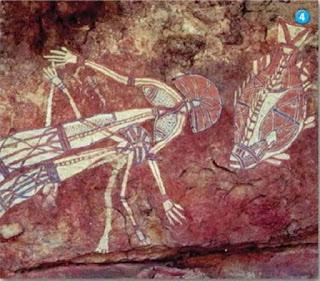 3.  ภาพวาดผนังถ้ำลัสโก (Replica of Lascaux) ประเทศฝรั่งเศส ค้นพบใน ค.ศ. 1940 มีภาพวาดสัตว์และสัญลักษณ์มากกว่า 600 ภาพ ผลงานเหล่านี้น่าจะวาดขึ้นระหว่าง 15,000 และ 13,000 ปี ก่อน ค.ศ. ใน ค.ศ. 1963 ห้ามประชาชนเข้าไปในถ้ำ เนื่องจากมีผู้คนเข้าไปชมจำนวนมากมายและใช้แสงสว่างที่ไม่เป็นธรรมชาติทำลายภาพวาด คนที่เข้าไปเที่ยวชมวาดภาพขึ้นมาหลอก ๆ (วาดเลียนแบบของจริง-มือบอน) ประมาณปีละ 300,000 คน