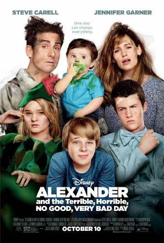 Alexander and the Terrible Horrible: No Good Very Bad Day (BRRip 1080p Dual Latino / Ingles) (2014)