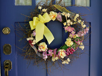 Sumer Wreath Makeover