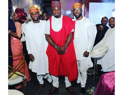 Who Rocked The Agbada Best? Rate Harrysong Vs Iyanya Vs Ubi Franklin