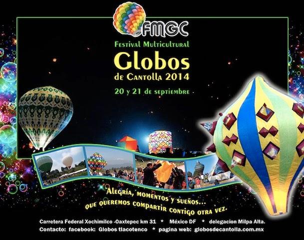 20 y 21 de septiembre. festival de globos de cantoya
