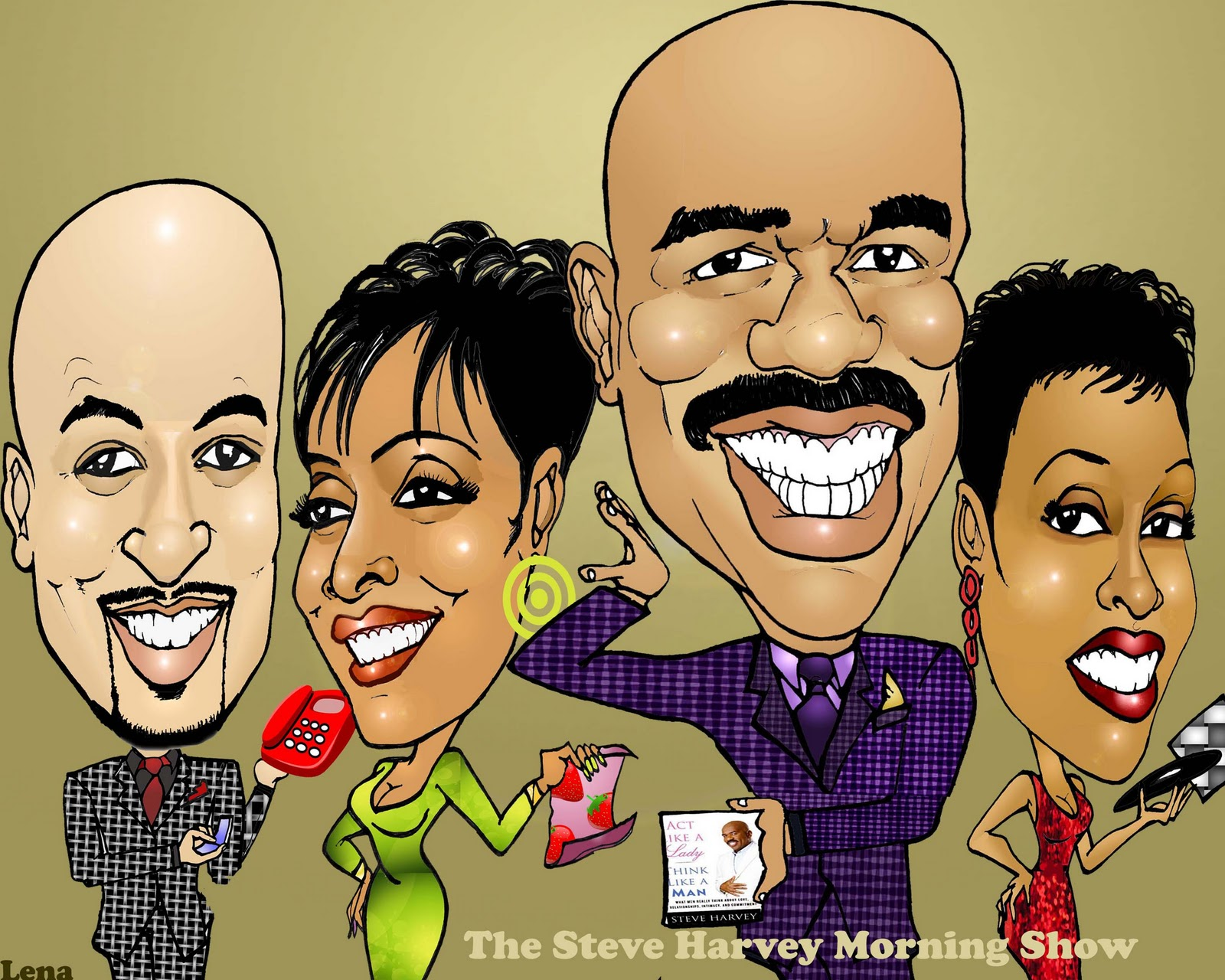 Steve Harvey - Picture Actress