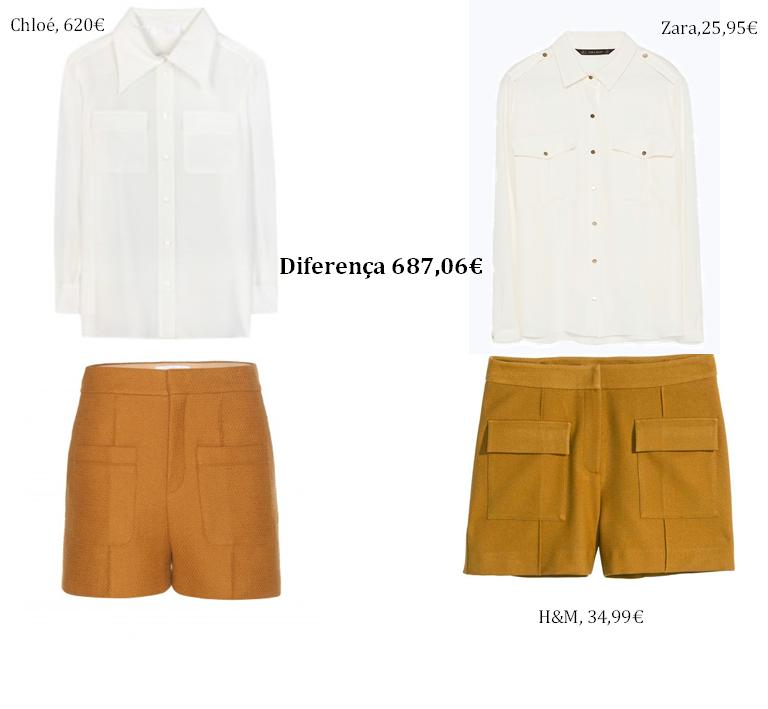 Chloé, Zara, H&M, vai dar ao mesmo