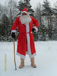 Suomalainen joulupukki hämäläisittäin ja tamperelaisittain suomea murtaen, ei silti kielipuoli