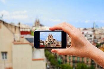 Il WIFI in albergo: viva Barcelona e viva l'Italia
