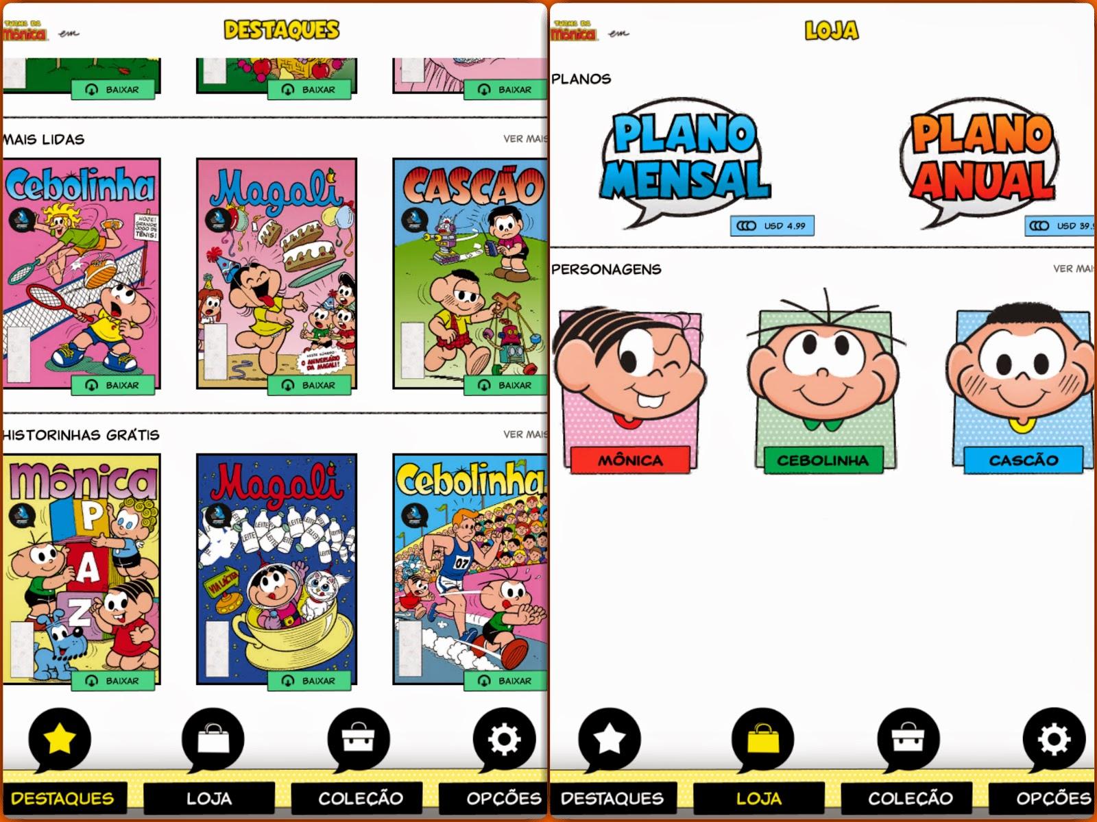 Pocket Hobby - www.pockethobby.com - #HobbyCartoon - Caixa de Quadrinhos App
